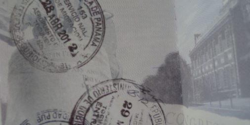 visa stamps in US passport