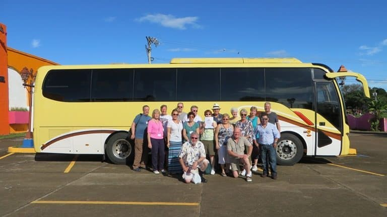 Panama Relocation Tours bus