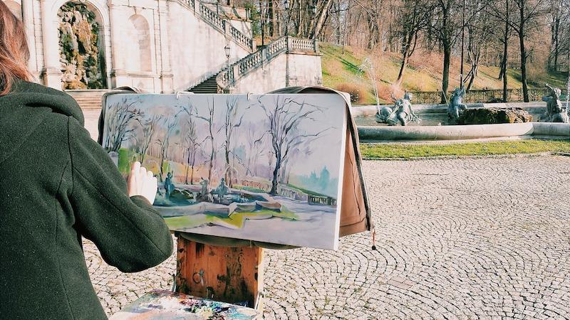 artist in Vienna, Austria